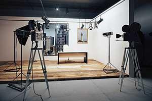 Film and video production set setup