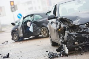 driver with commercial automobile insurance who got into an accident