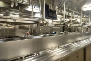 kitchen of a restaurant that is covered by restaurant insurance broker