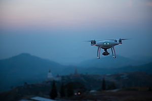 a drone that has protection from liability that is offered by a Los Angeles drone insurance broker