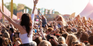 a music festival with special event insurance