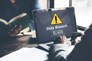 Technology company experiencing a data breach