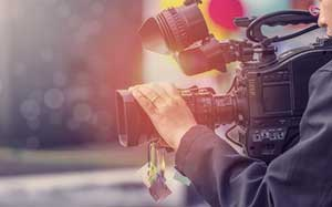 Film production in progress covered by entertainment insurance