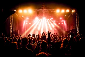 concert scene that would not happen with out concert insurance