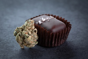 chocolate edible that could have cannabis liability risks