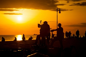 a film set that needs short term film production insurance
