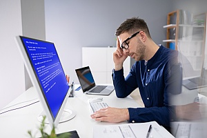 Man upset over broken software