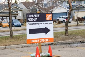 Curbside Delivery reduces loss of income during pandemic