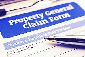 property insurance claim form needed for cannabis company