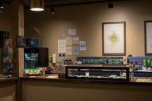 Inside of dispensary