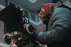 director is able to film in the cold after getting entertainment insurance for the film production