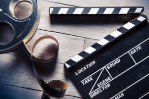 entertainment insurance policy will be used to repair damaged film reel