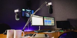 the microphones and other equipment are insured by entertainment insurance