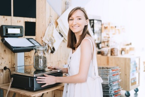 women working at a cannabis store covered with E&O insurance coverage