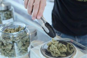 approval of attestation j allows dispensary owner to weigh and sell cannabis products