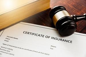 certificate of health insurance