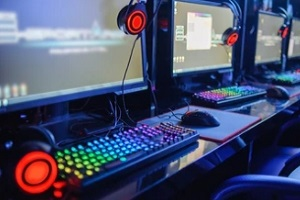esports gaming setup